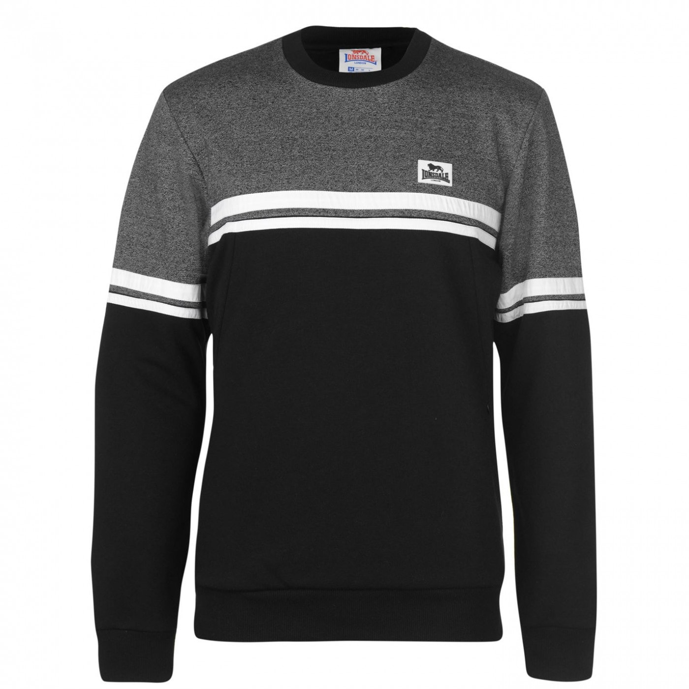 Lonsdale Space Crew Sweater Mens