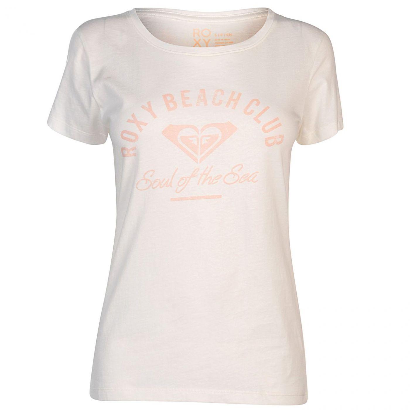 Roxy Beach Club T Shirt Ladies