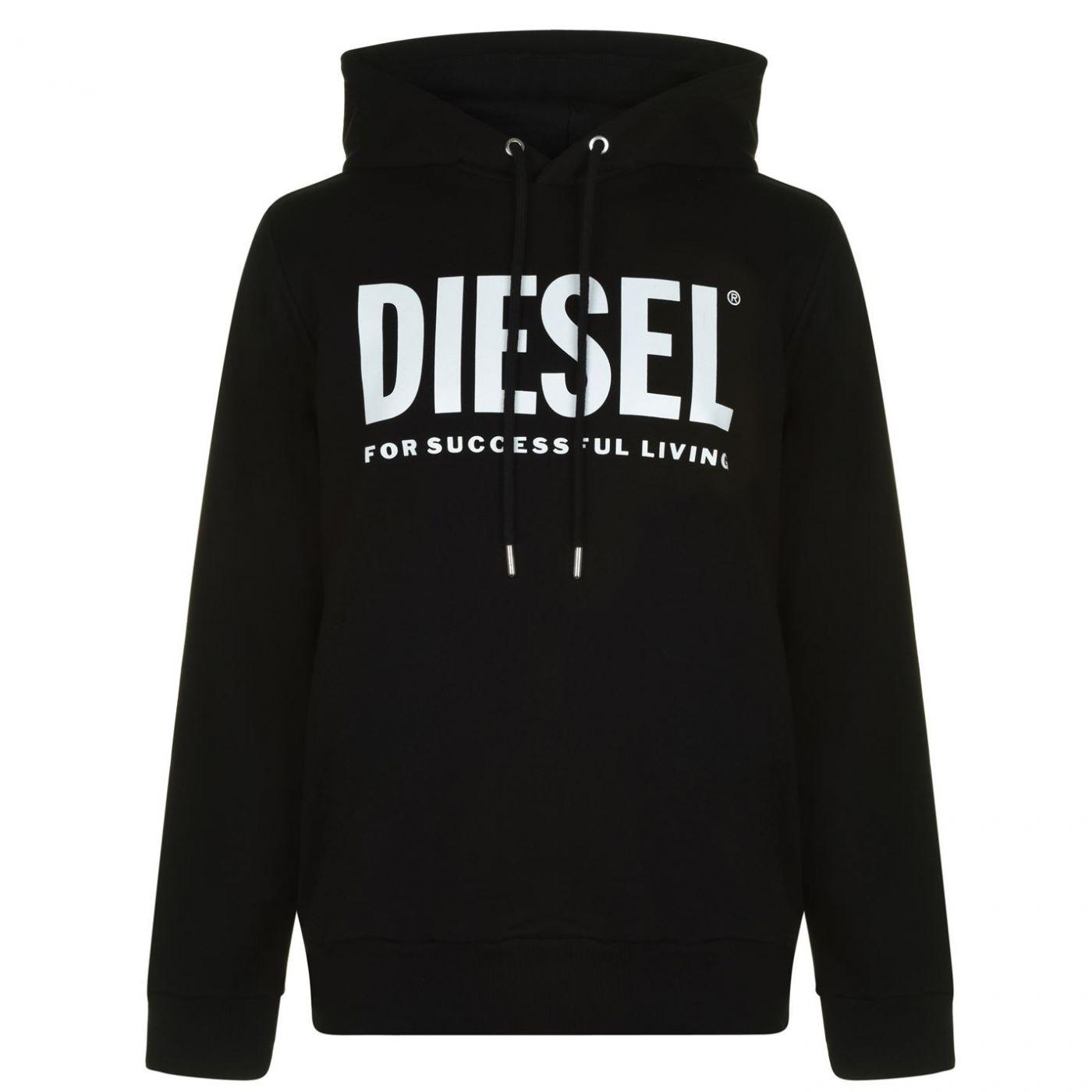 Diesel Text Logo OTH Hoodie