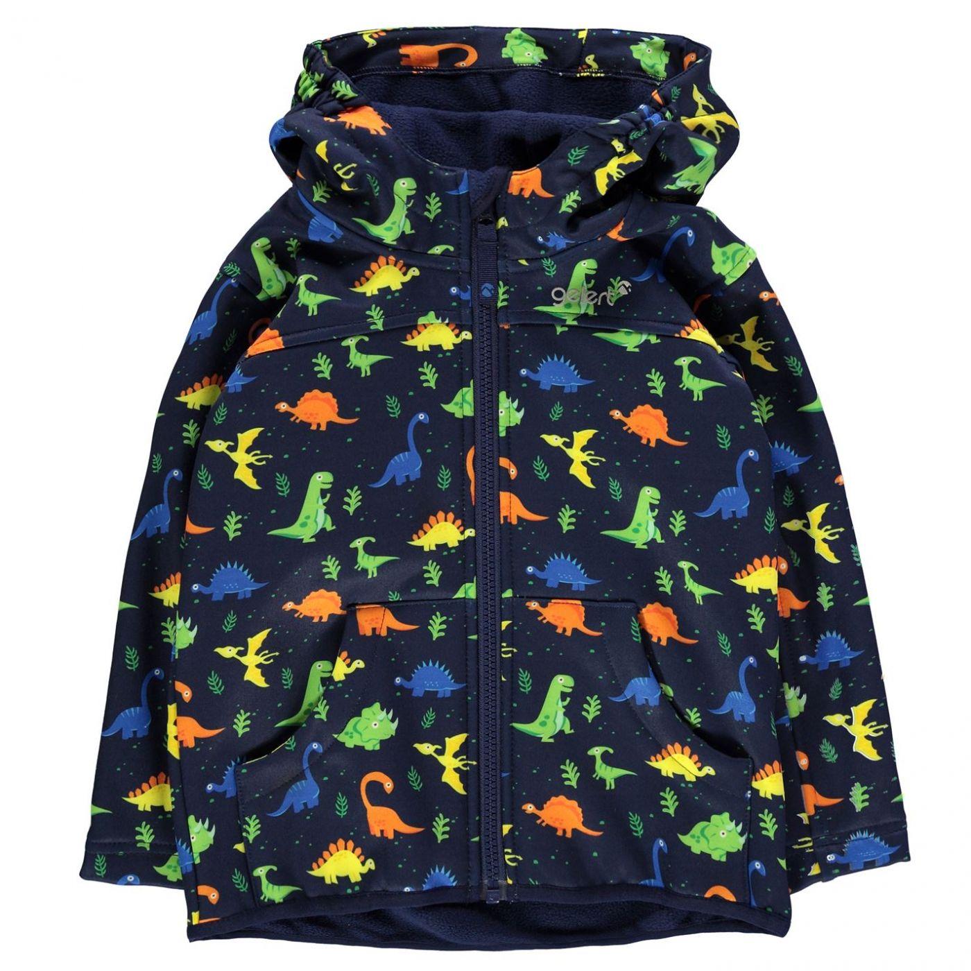 Gelert Softshell Hooded Jacket Childrens