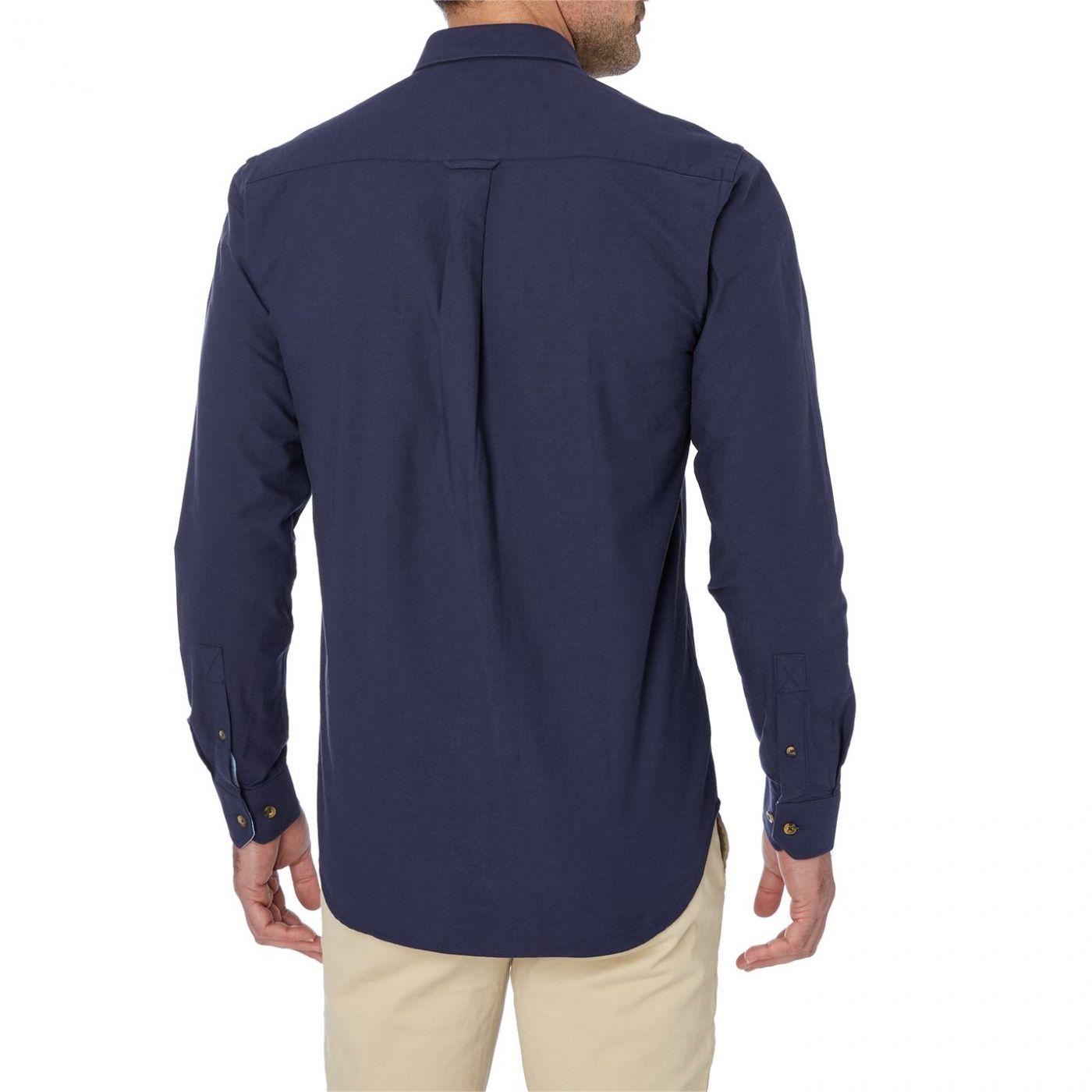Raging Bull Long Sleeve Oxford Shirt