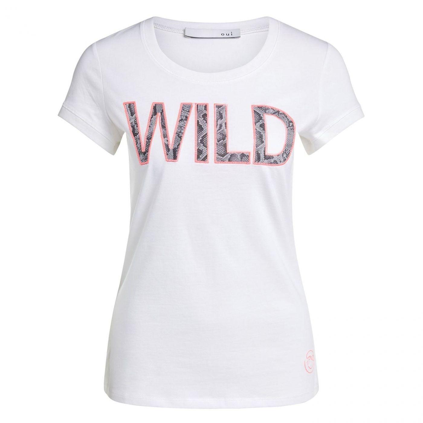 Oui Wild Logo T-Shirt