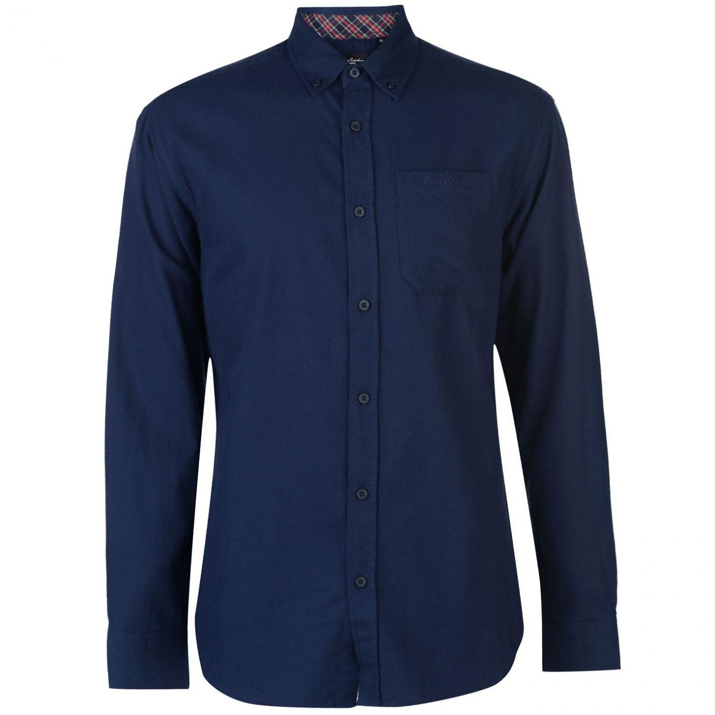 Pierre Cardin C Plain Twill Long Sleeve Shirt Mens