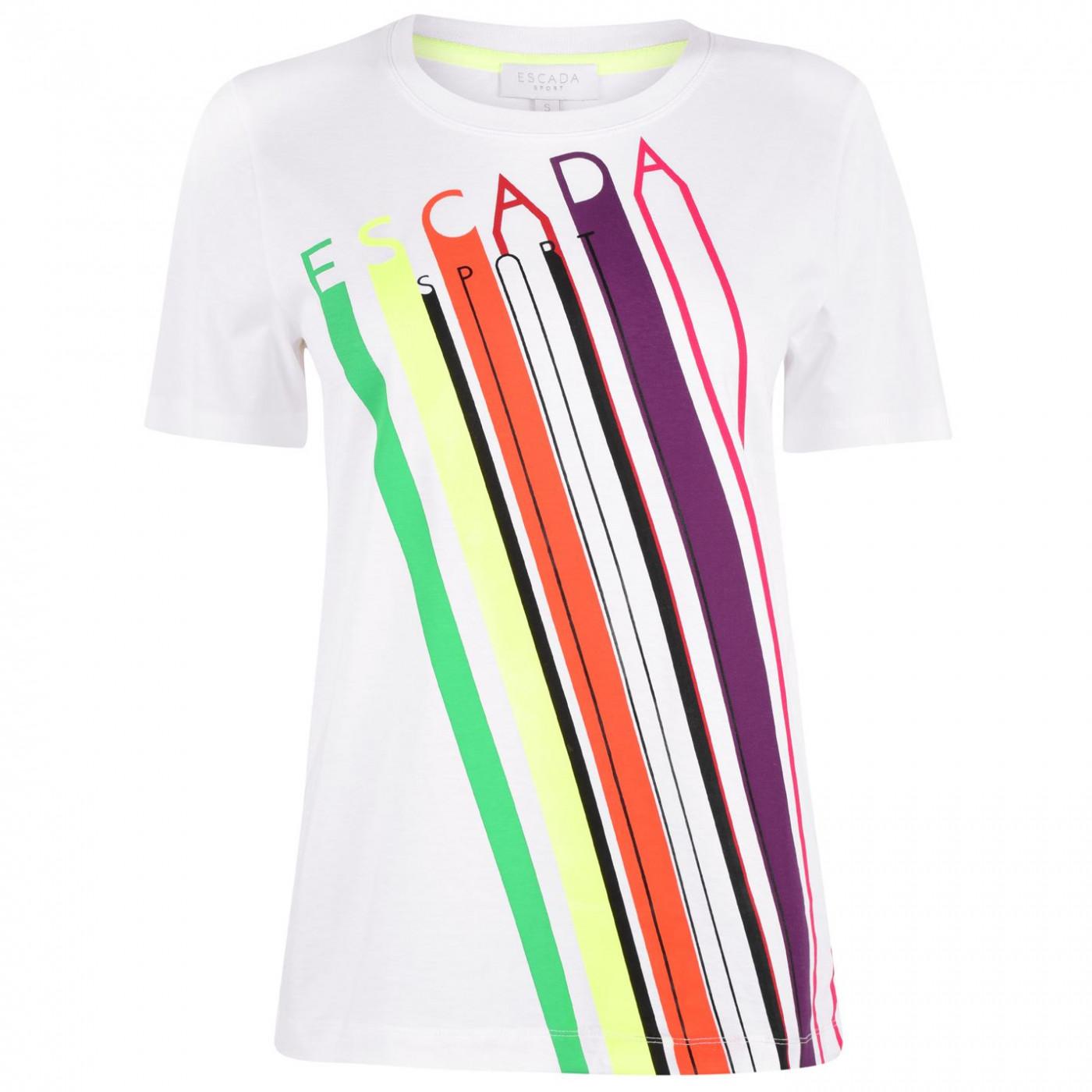 Escada Multicolour Logo T-Shirt