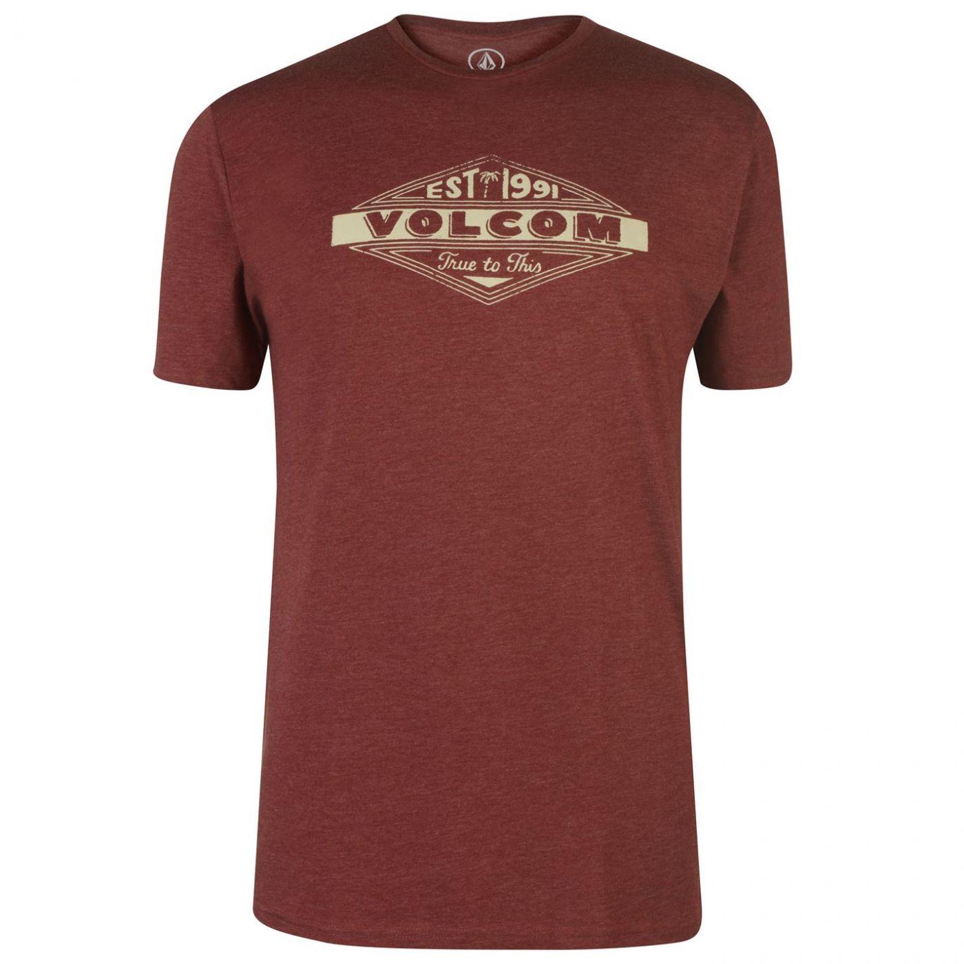 Volcom Mens Printed T-shirt