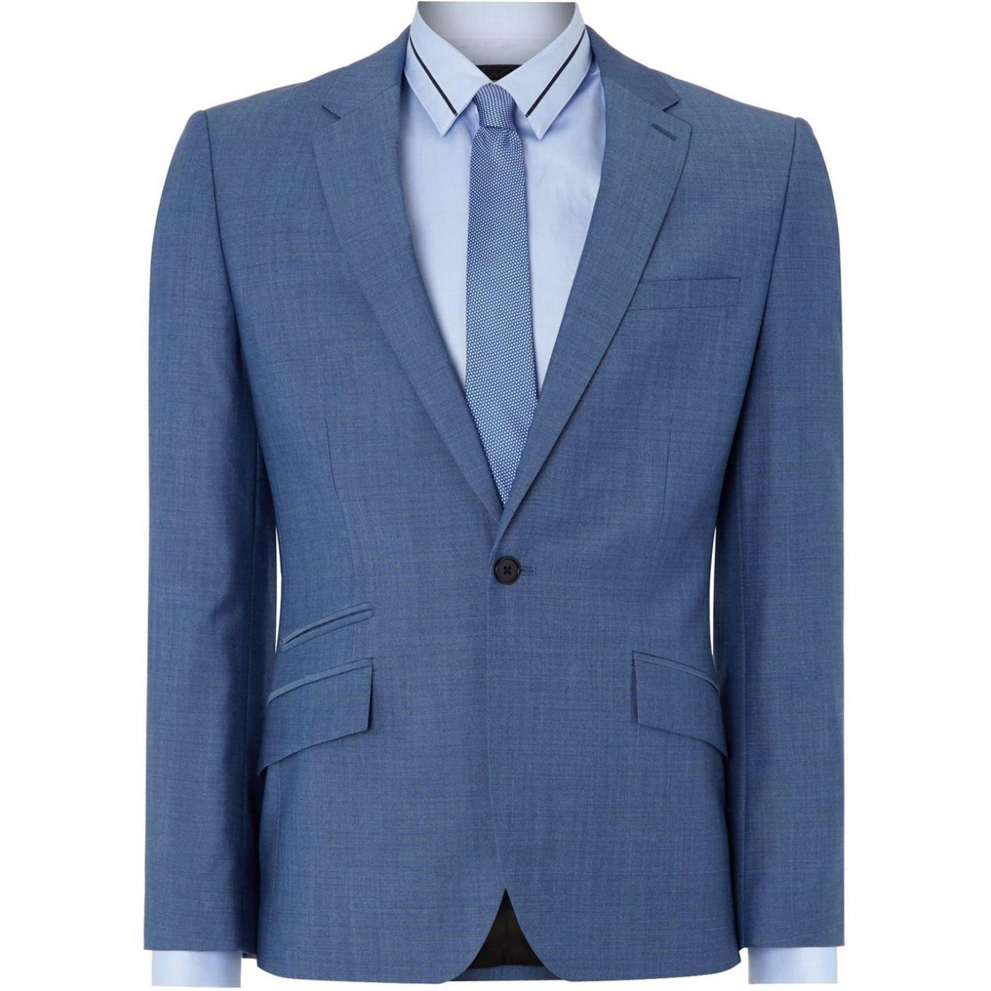 Kenneth Cole Bladon Slim Fit Jet Ticket Pocket Suit Jacket