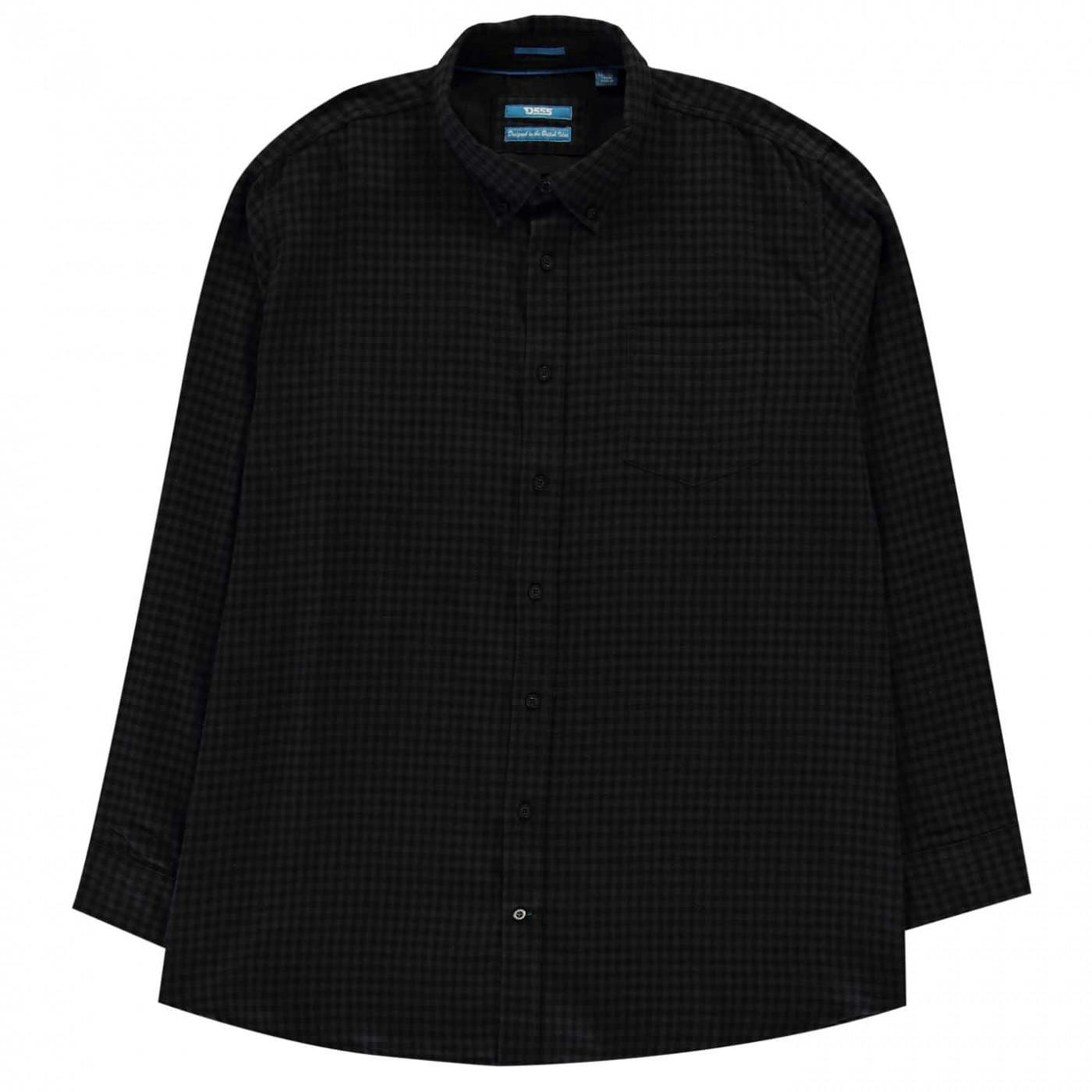 D555 Jared Long Sleeve Check Shirt Mens