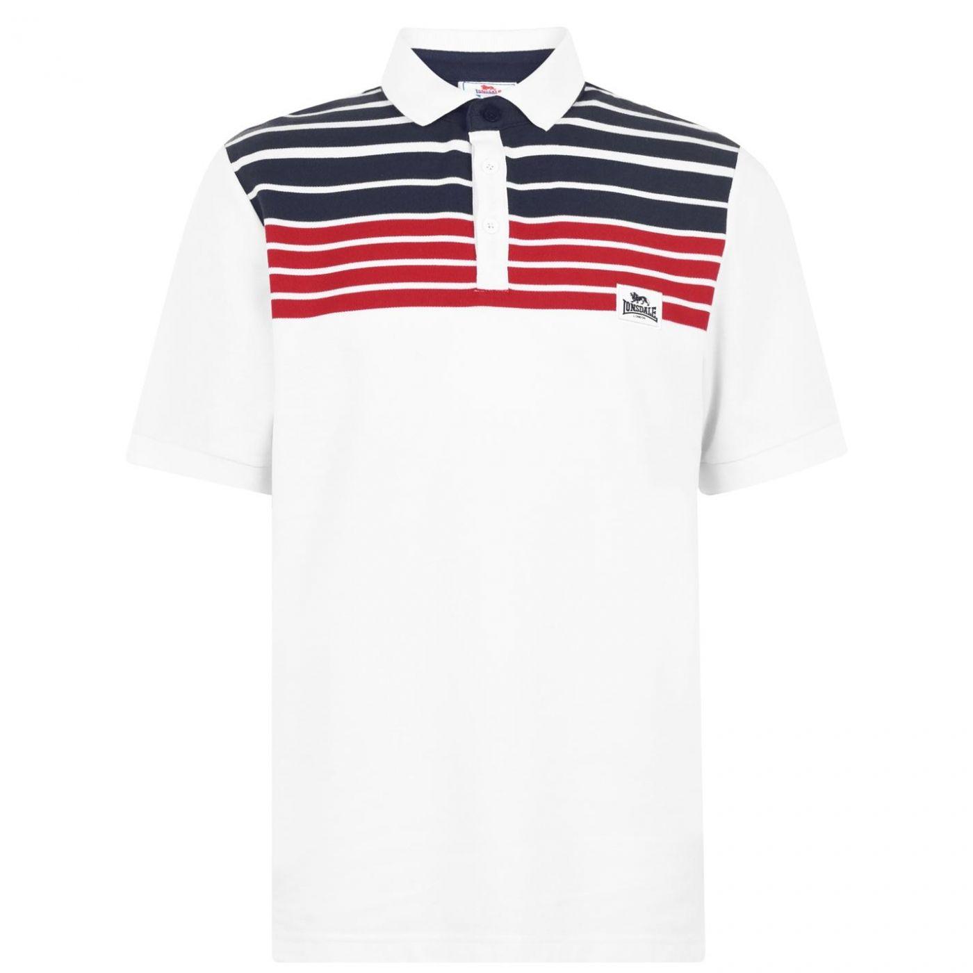 Men's polo Lonsdale Yarn Dye Stripe