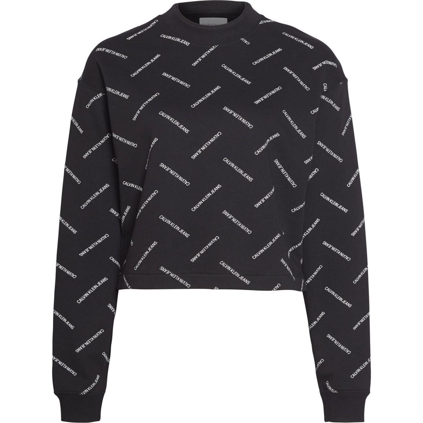Calvin Klein Jeans Diagonal Logo Crew Sweatshirt