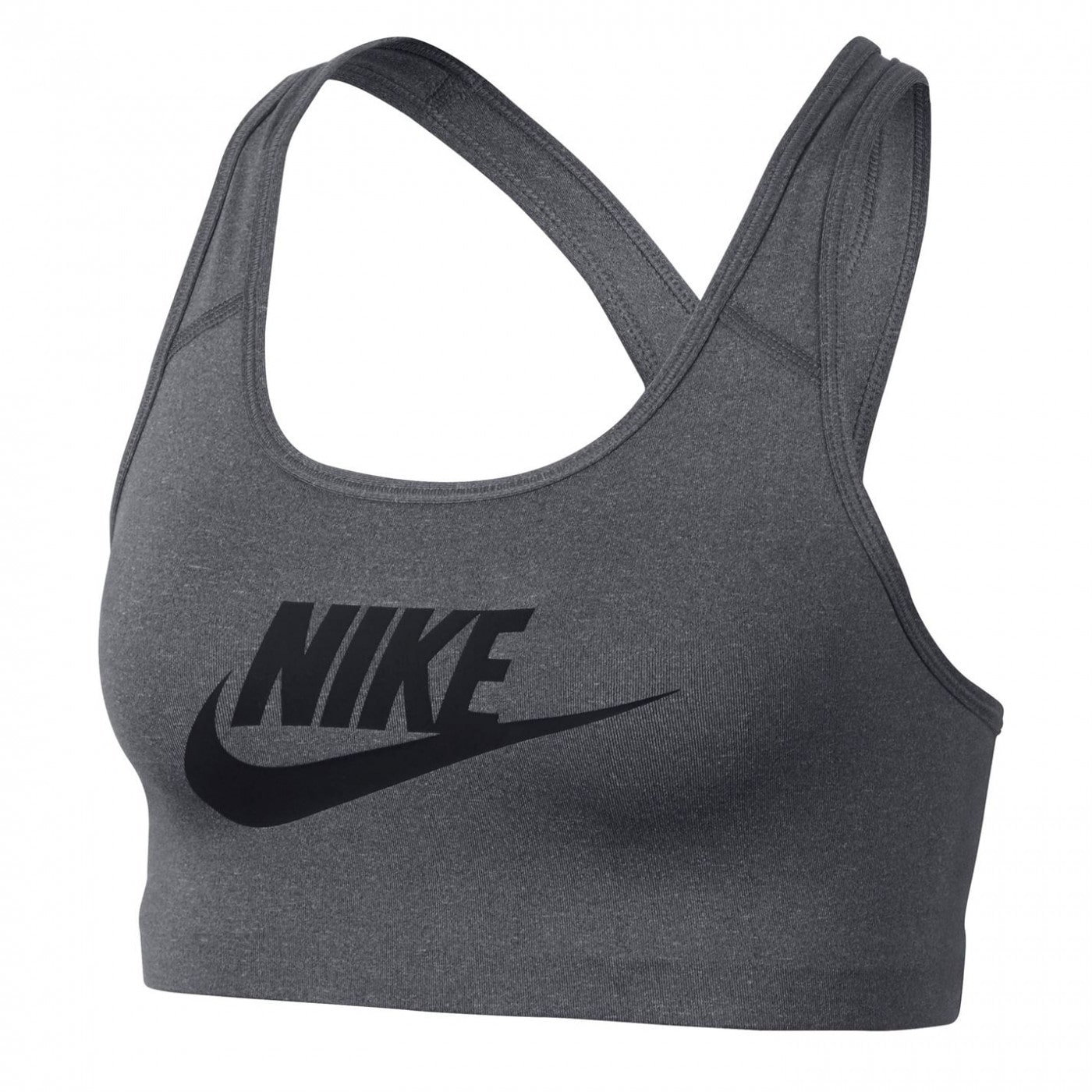 Nike Swoosh Futura Sports Bra Ladies