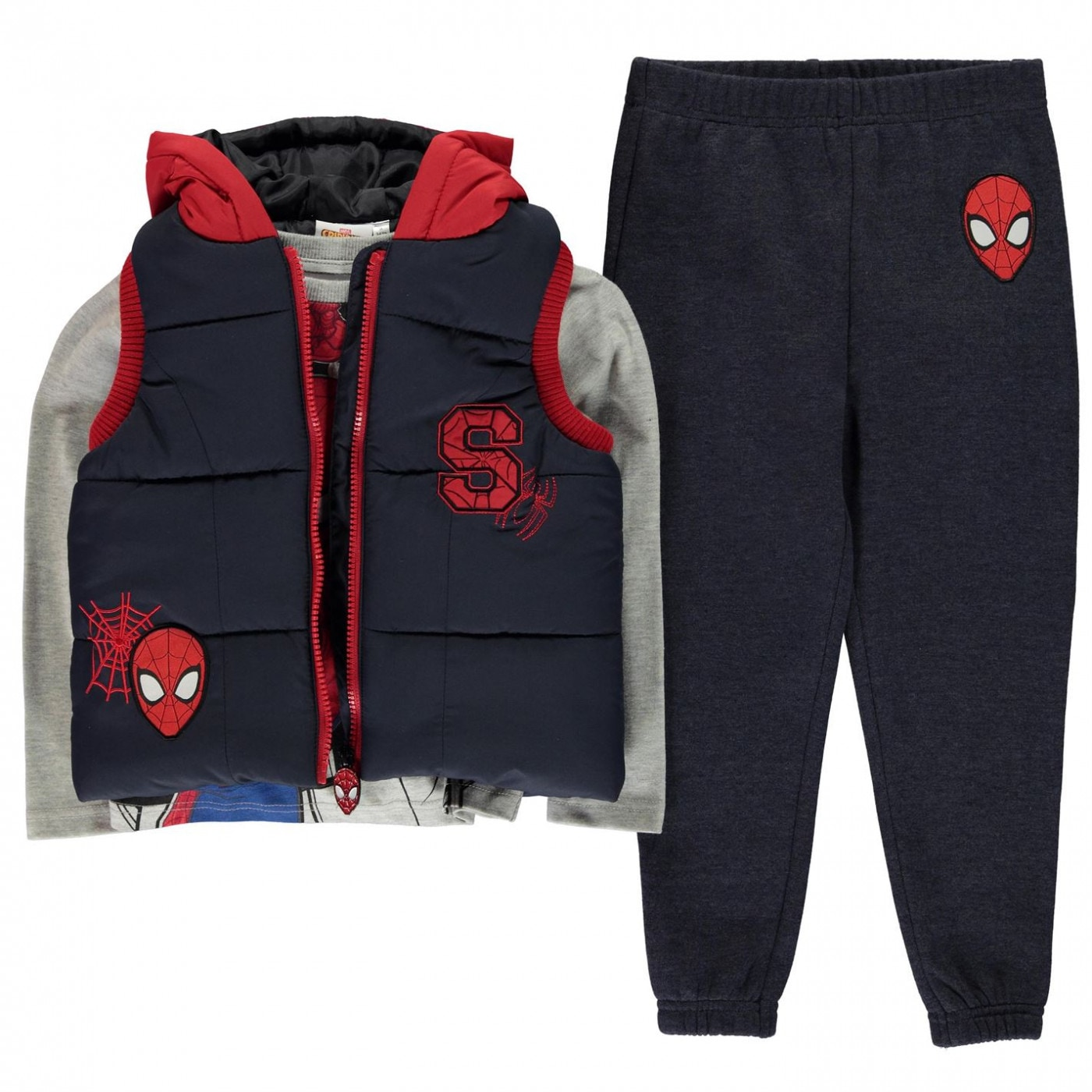 Character Gilet Set Infant Boys