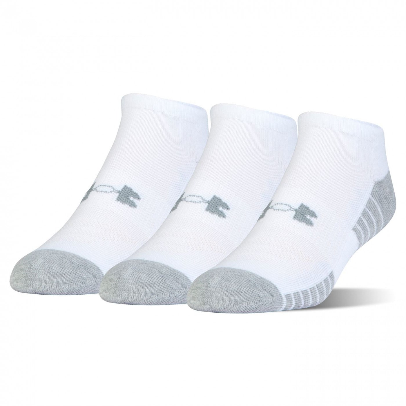 Under Armour Tech No Show 3 Pack Socks