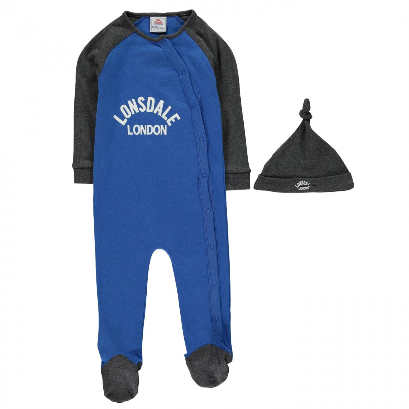 Lonsdale Sleep Suit Baby Boys