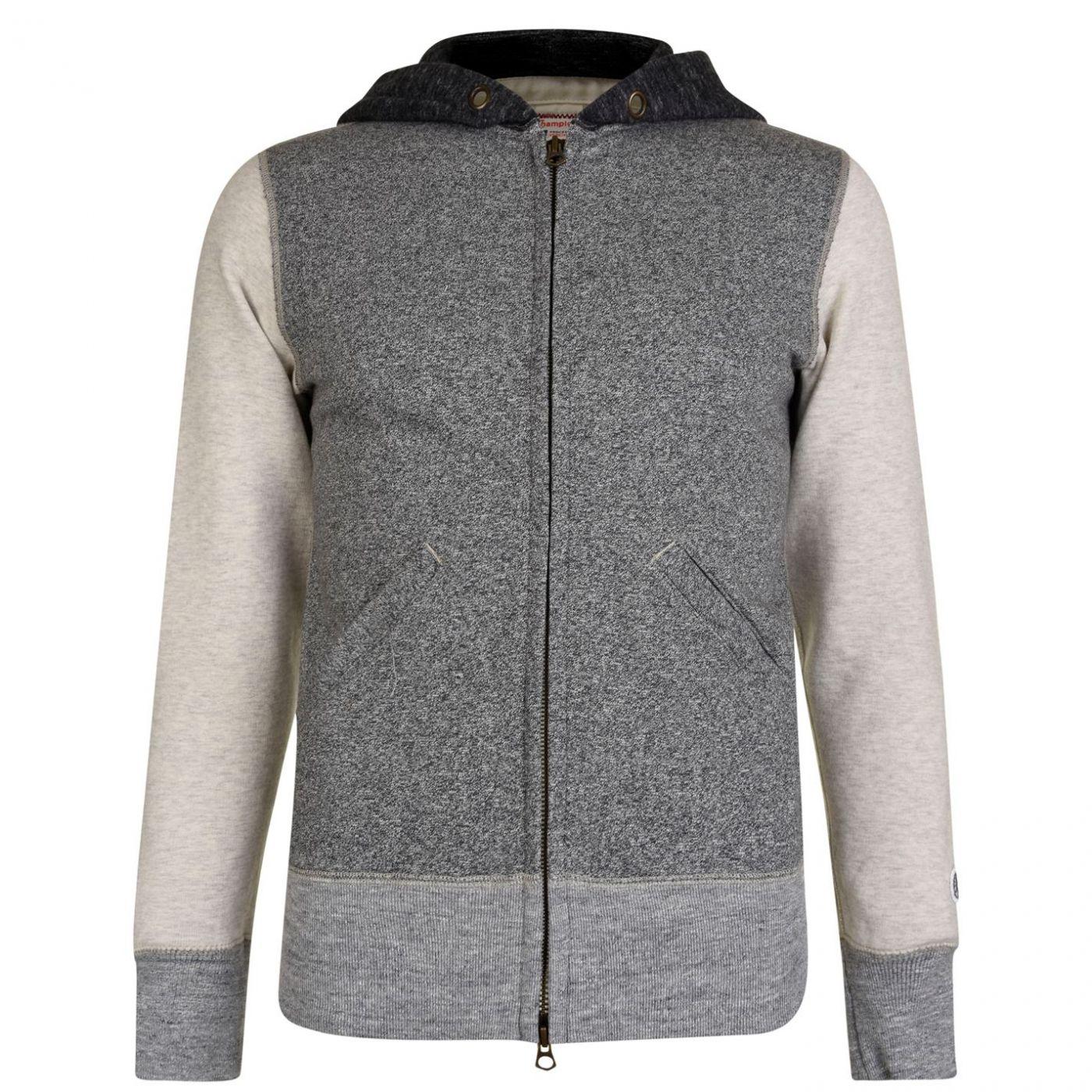 Champion Zipped Hooded Sweatshirt