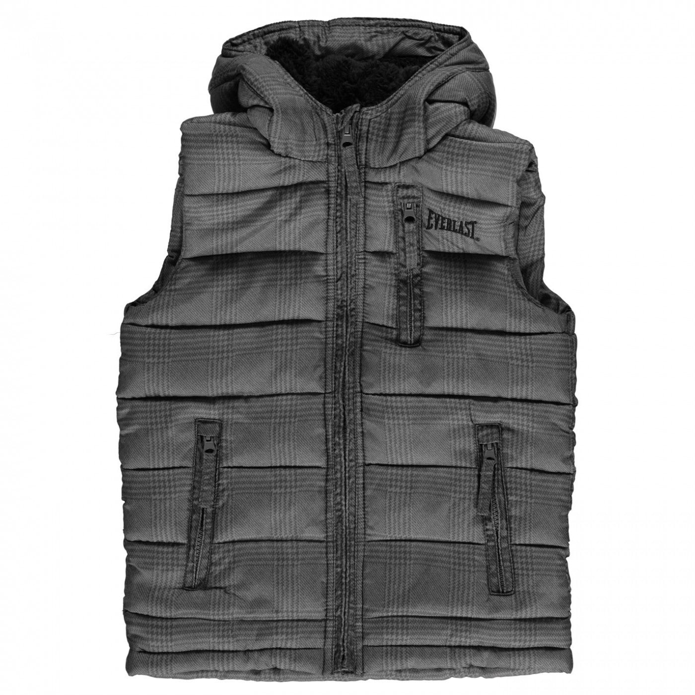 Boys' vest Everlast Checked Print