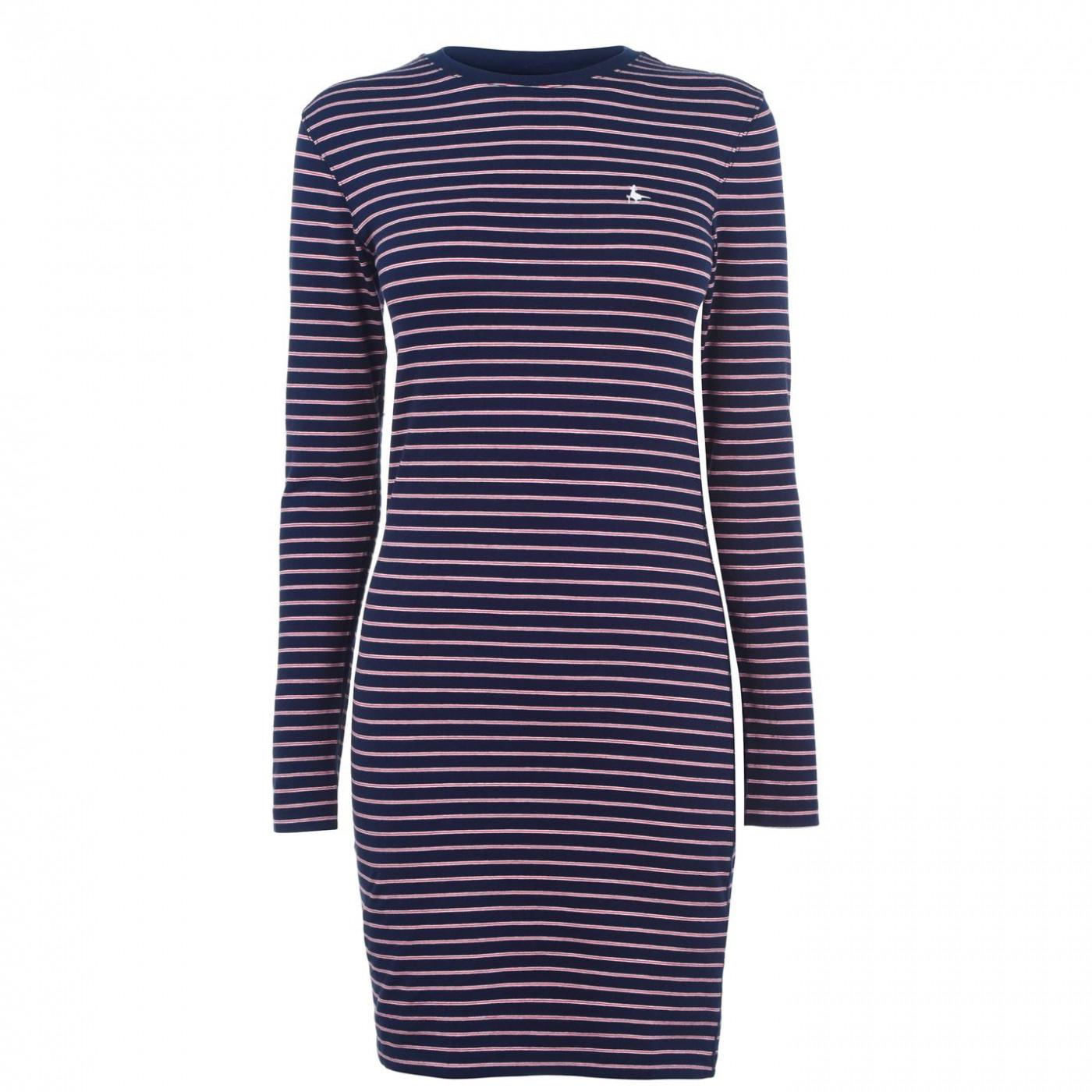 Jack Wills Capstaff Stripe Jersey Dress