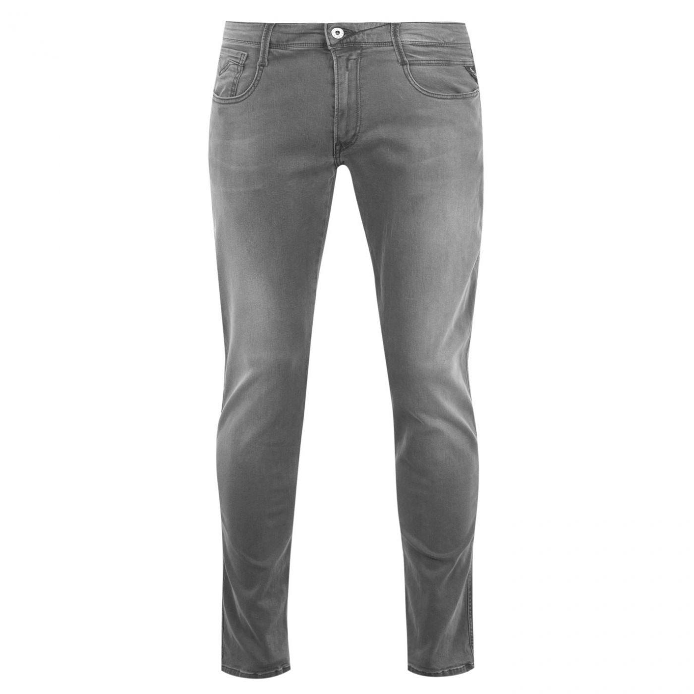 Replay Anbass Hyperflex Slim Jeans Mens