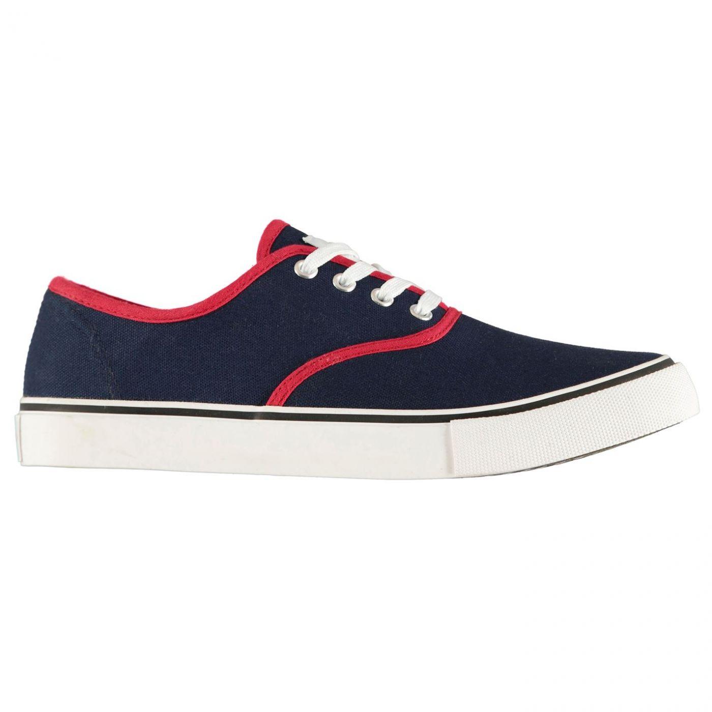 Lee Cooper Canvas Val Shoes Juniors