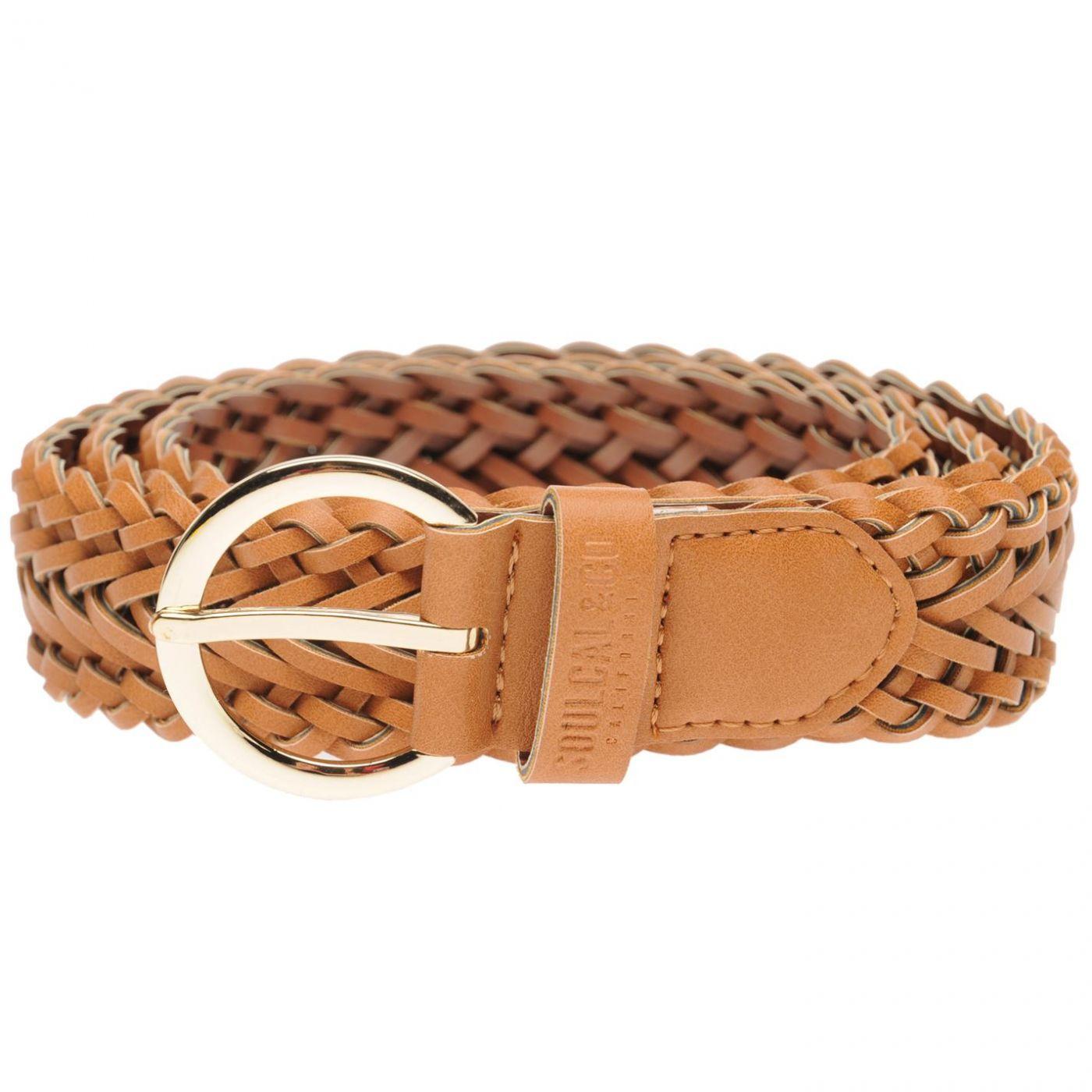 SoulCal Braid Belt Ladies