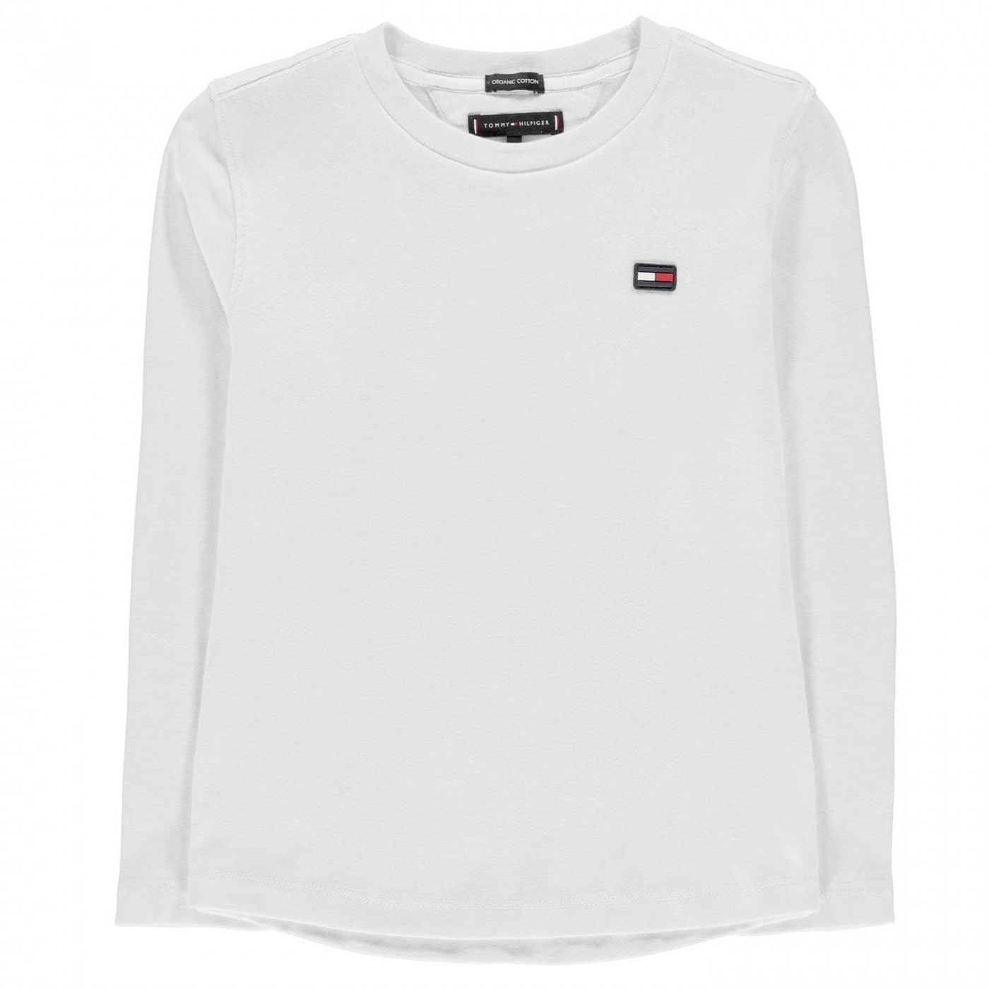 Tommy Hilfiger Essential Ribbed Long Sleeve T Shirt
