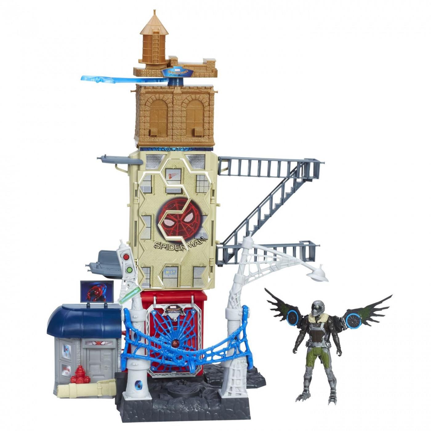 Marvel Spider Man Web City Playset
