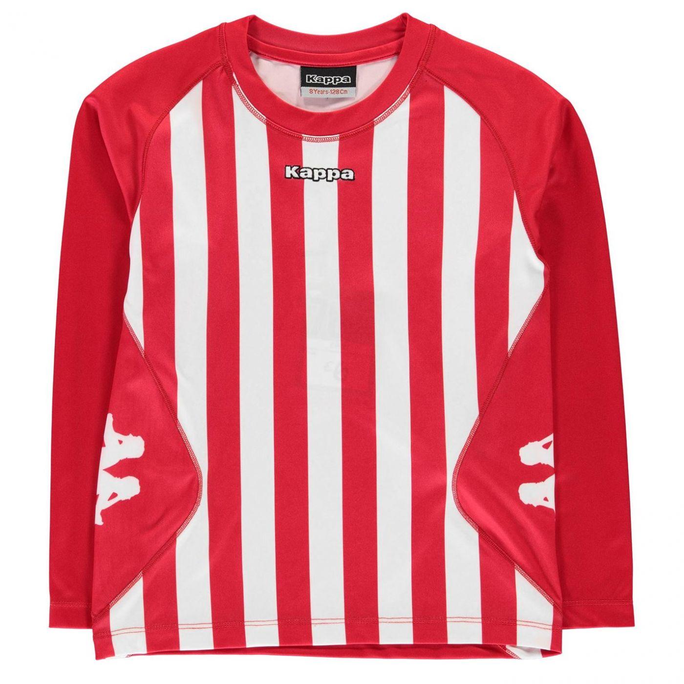 8c196d3f45f9e Kappa Barletta Long Sleeve T Shirt Junior Boys - FACTCOOL