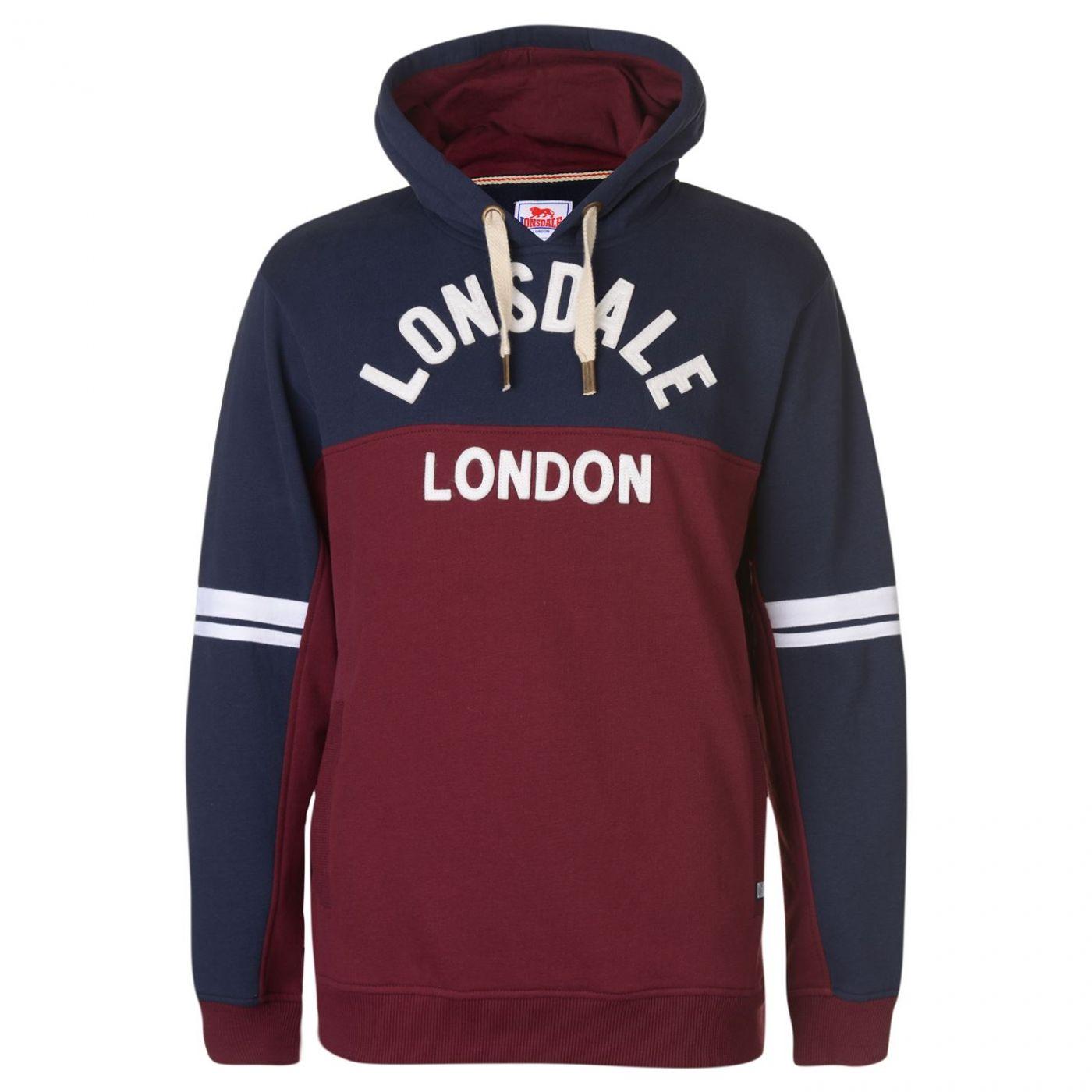 Men's hoodie Lonsdale Heritage OTH