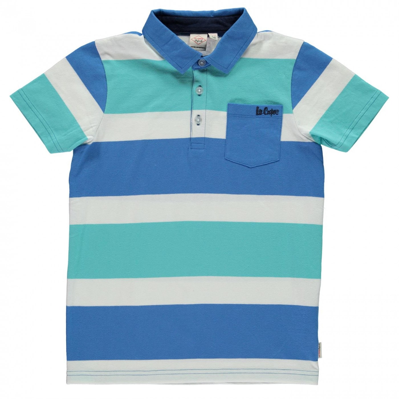 bc7728131a0 Lee Cooper Stripe Polo Shirt Junior - FACTCOOL