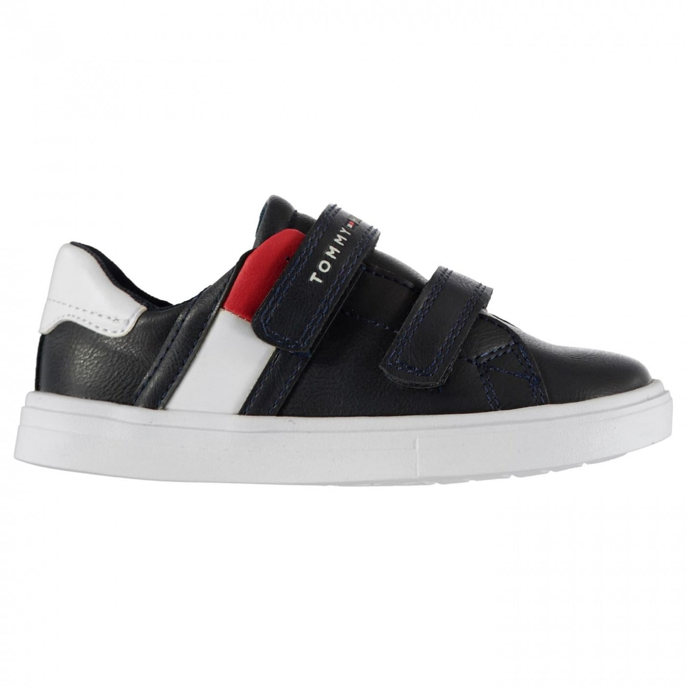 Tommy Hilfiger Hook and Loop Logo Trainers