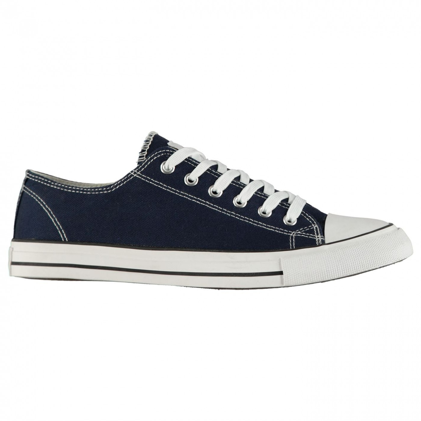 Lee Cooper Canvas Lo Shoes Mens