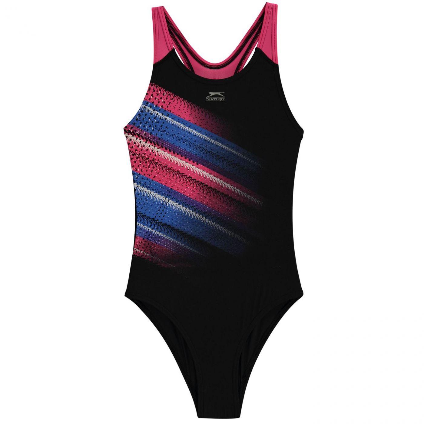 Slazenger Sportback Swimsuit Junior Girls