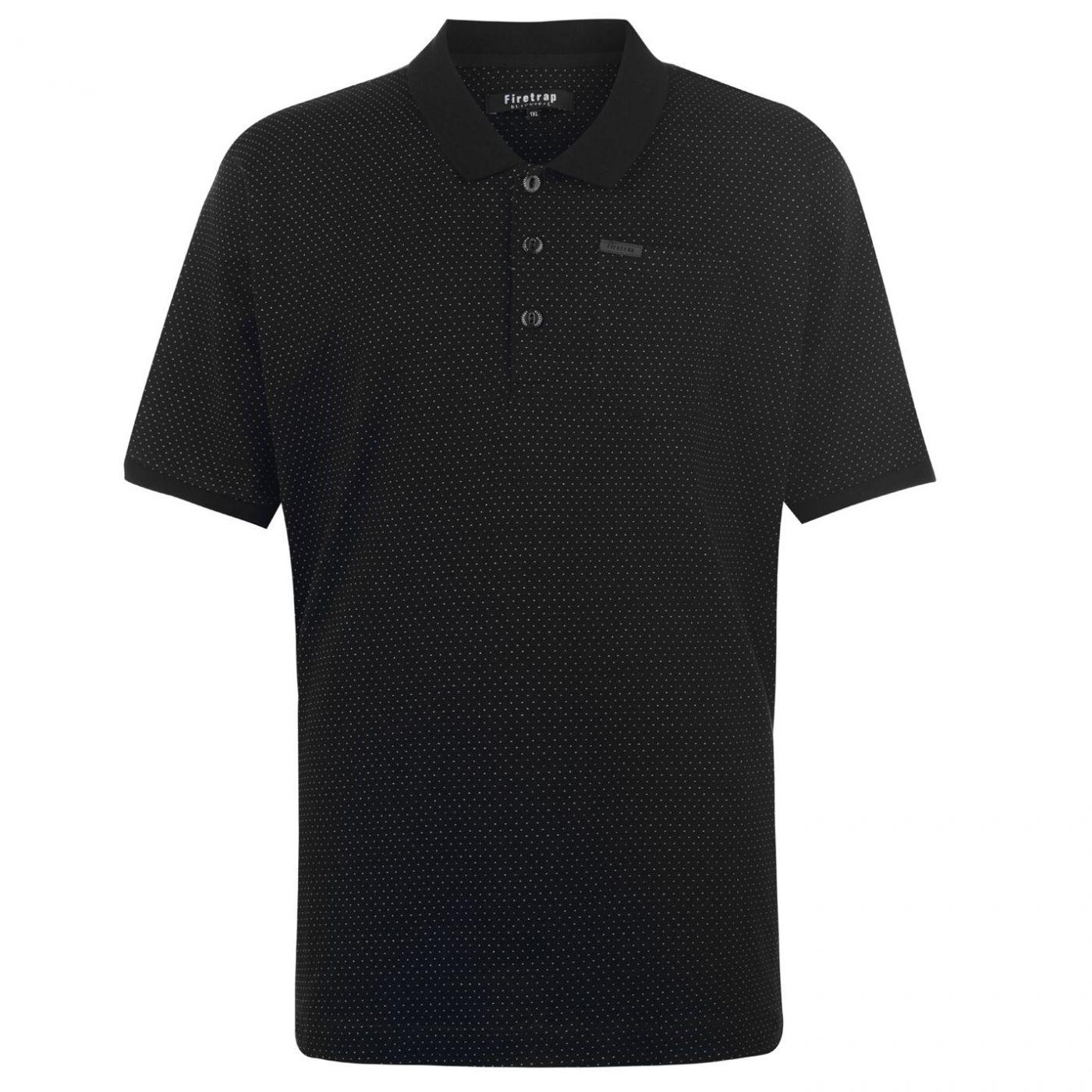 Firetrap Blackseal XL Pinpoint Polo Shirt