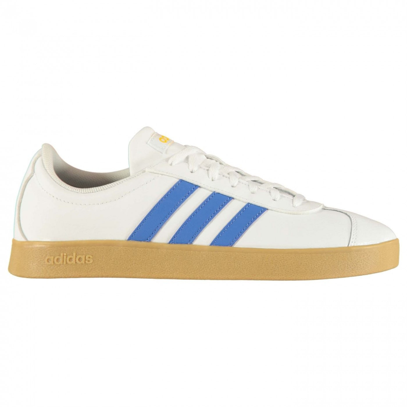 Adidas VL Court 2 Leather Trainers Mens