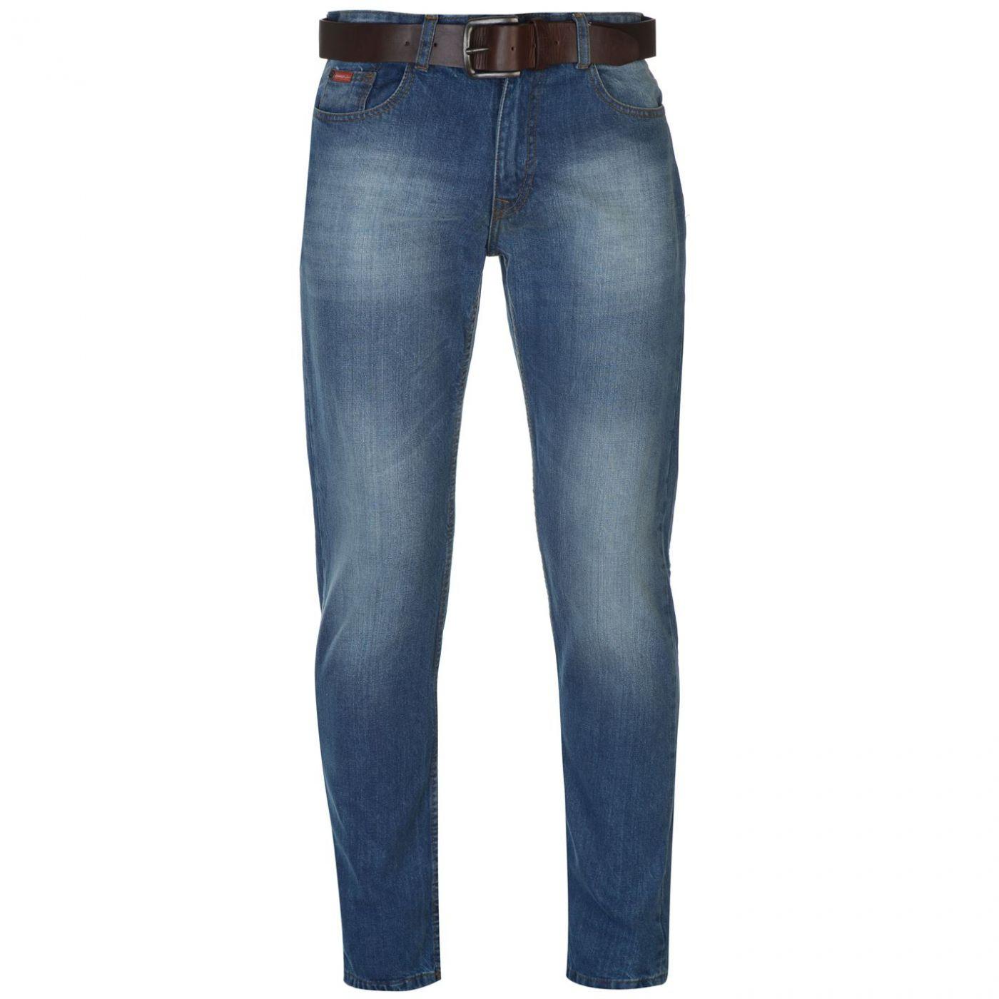 Men's jeans Lee Cooper Belt detailed