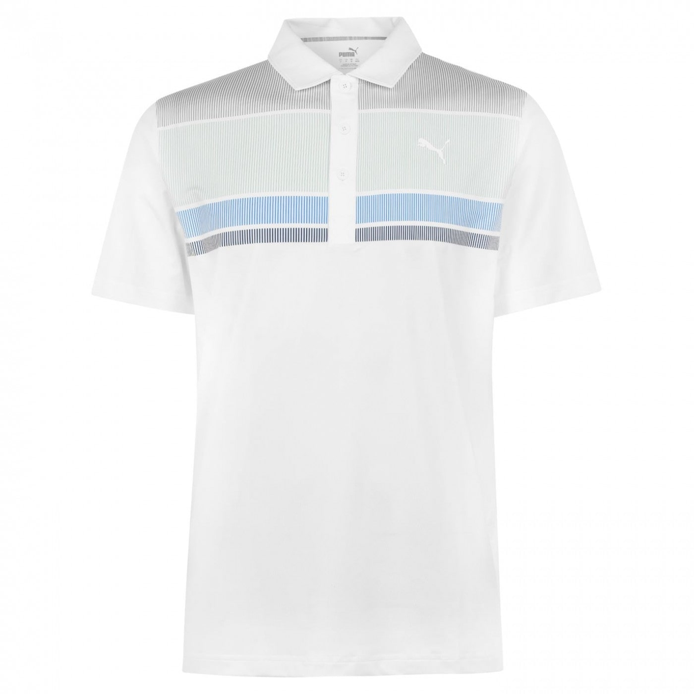 Puma Road Map Golf Polo Shirt Mens
