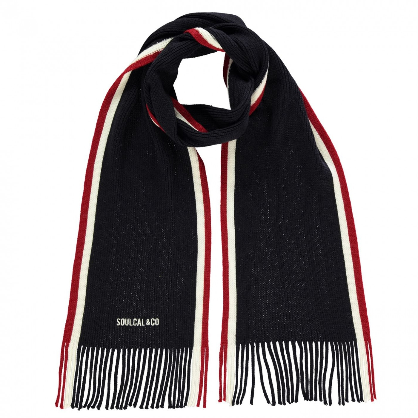 SoulCal Tipped Scarf Mens
