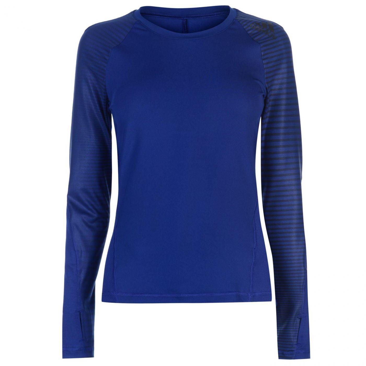 Adidas Alphaskin Long Sleeve T Shirt Ladies