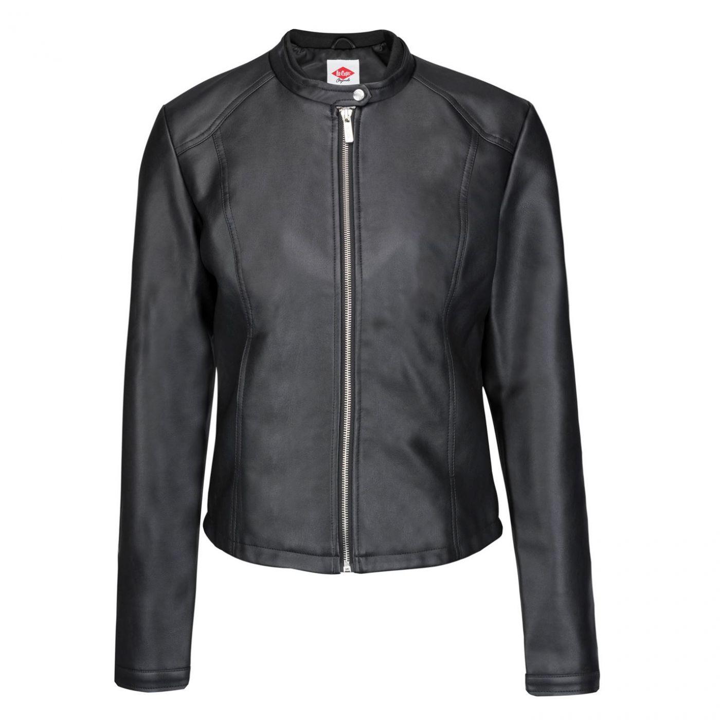 Lee Cooper Classic PU Jacket Ladies