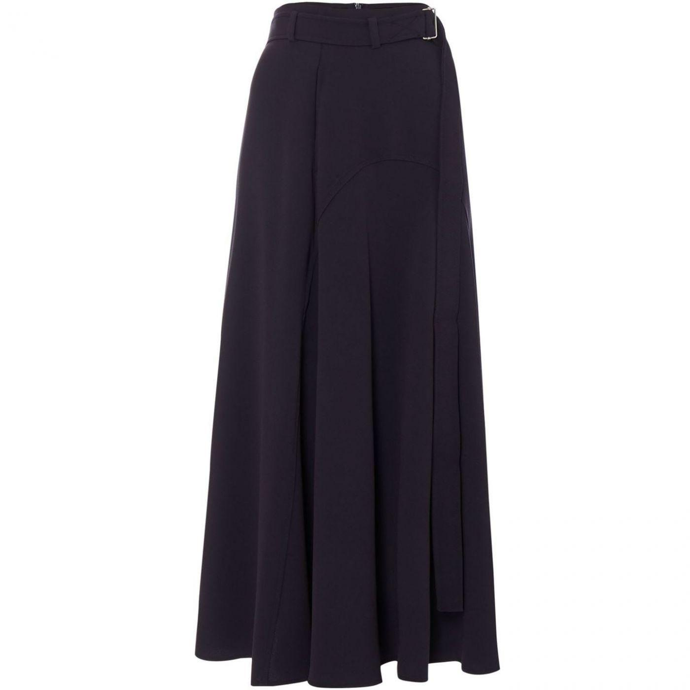 Max Mara Weekend Elvira belted long skirt