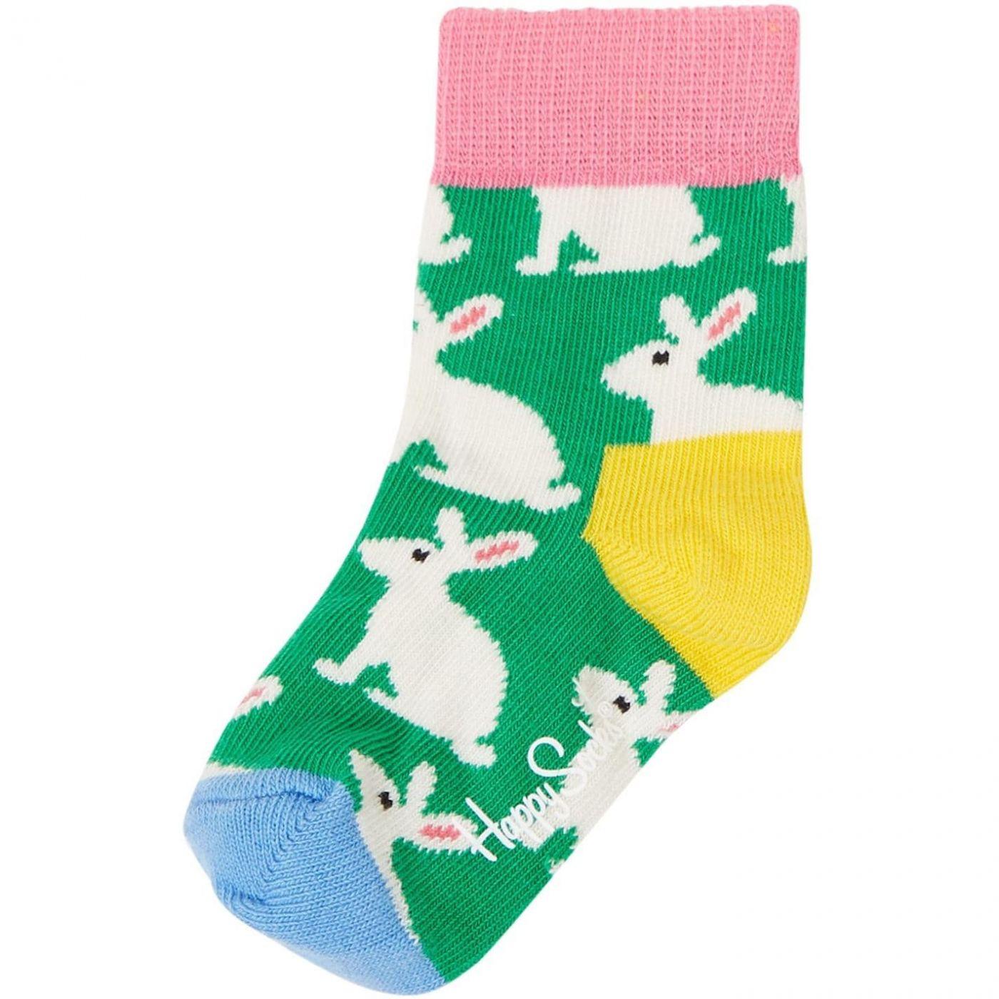 Happy Socks Rabbit Print Socks