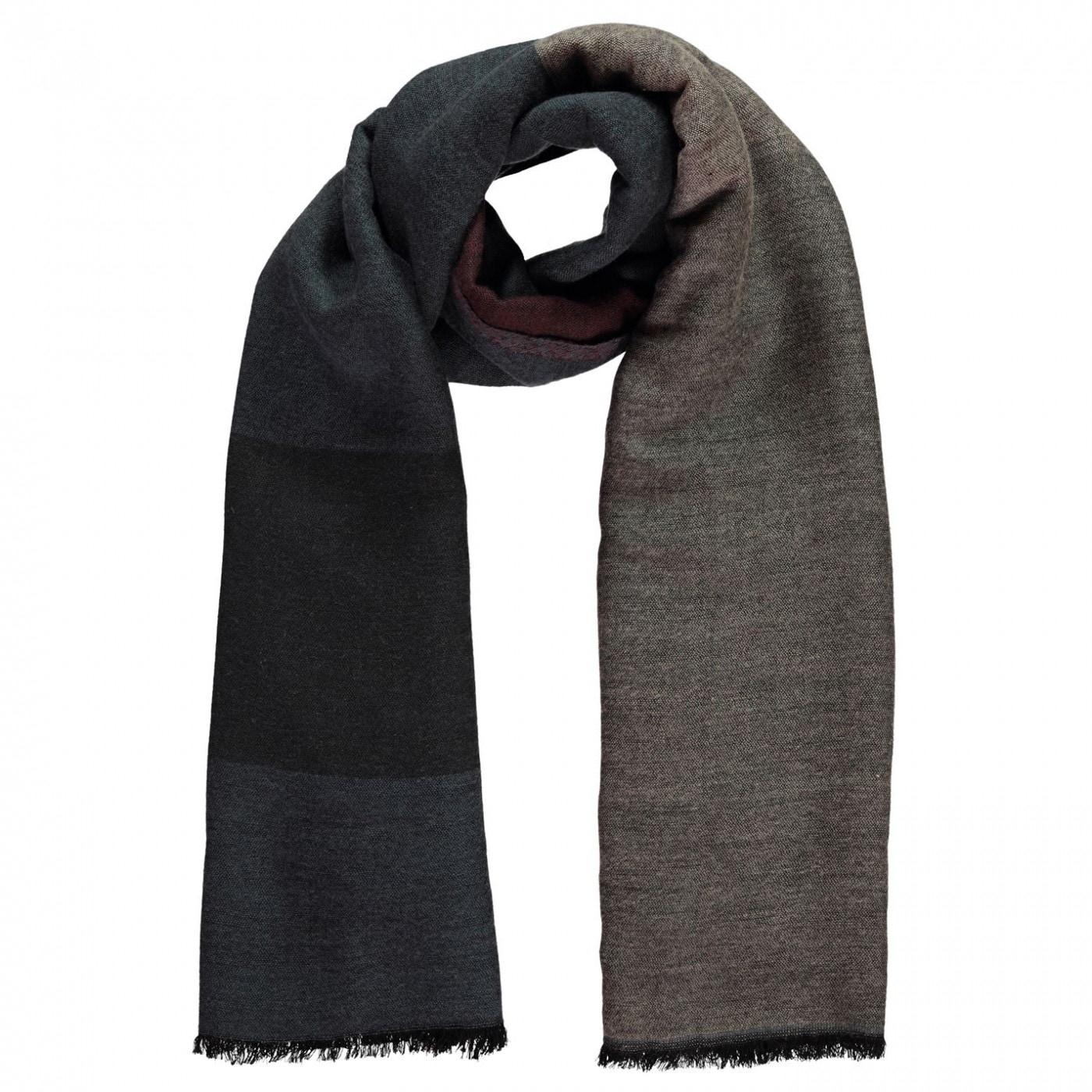 Linea Womens Colour block midweight scarf