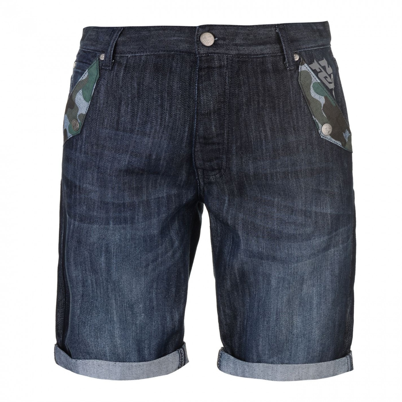 No Fear Camouflauge Shorts Mens