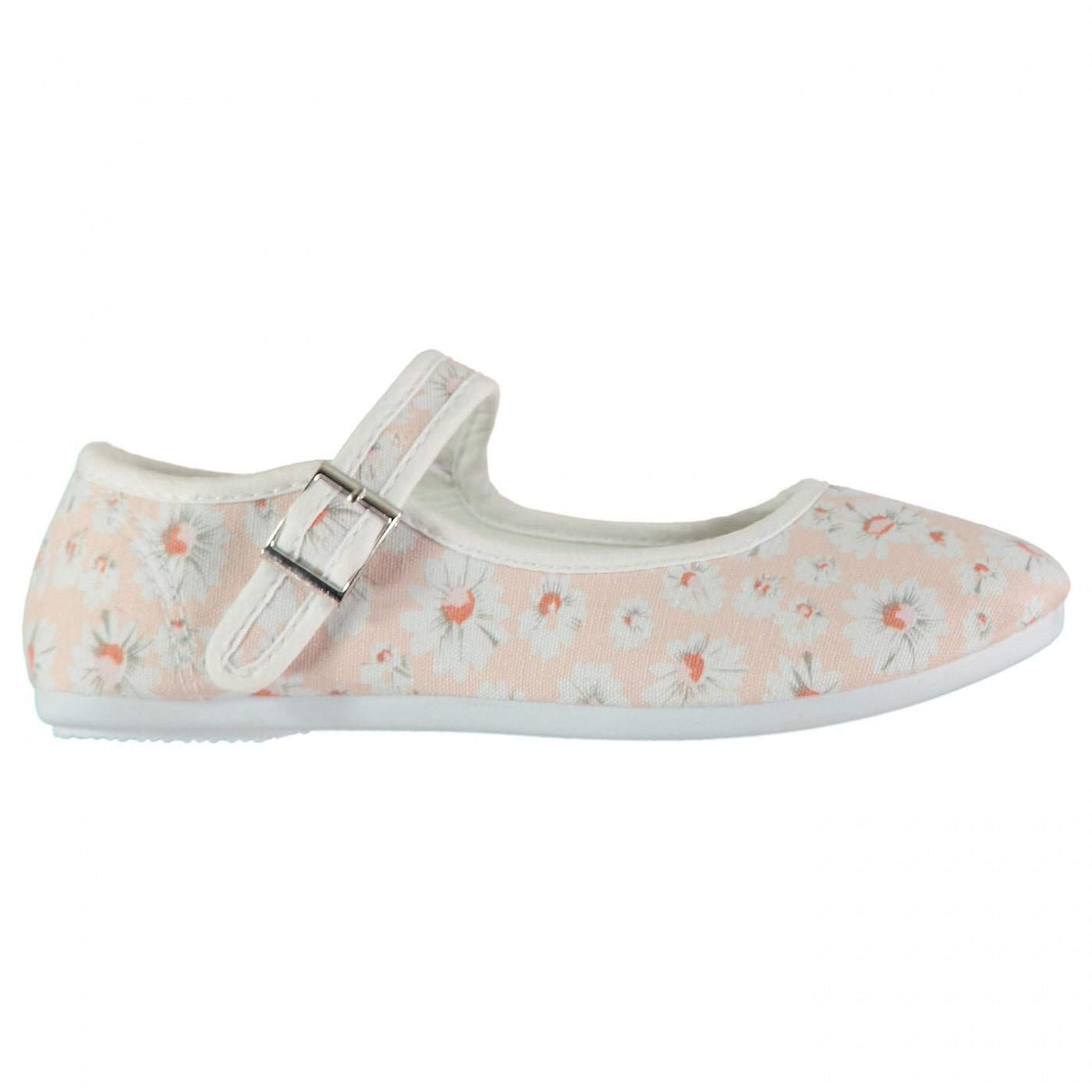 Slazenger Canvas Mary Jane Child Girls Shoes