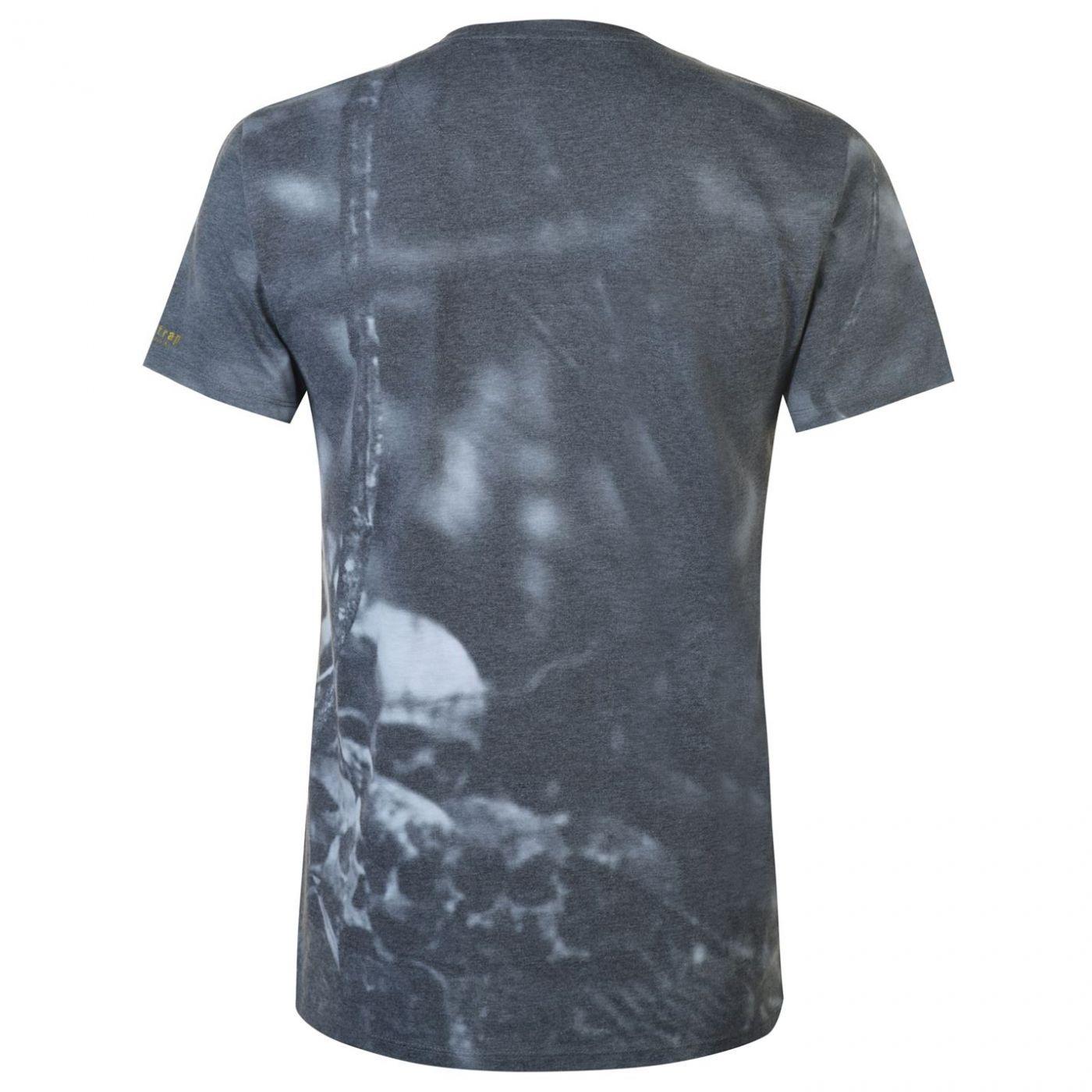 Firetrap Blackseal Sub Skull T Shirt