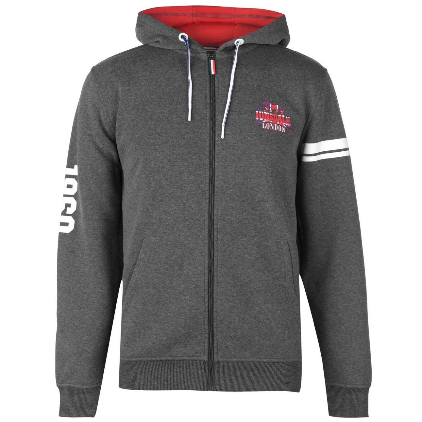 Men's hoodie Lonsdale London Full Zip