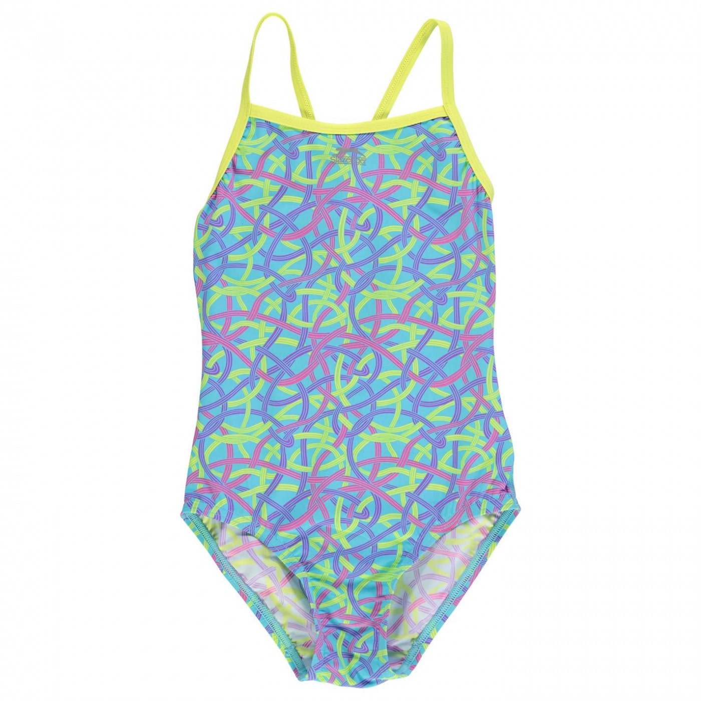 134cd216a Slazenger Thin Strap Swimsuit Junior Girls - FACTCOOL