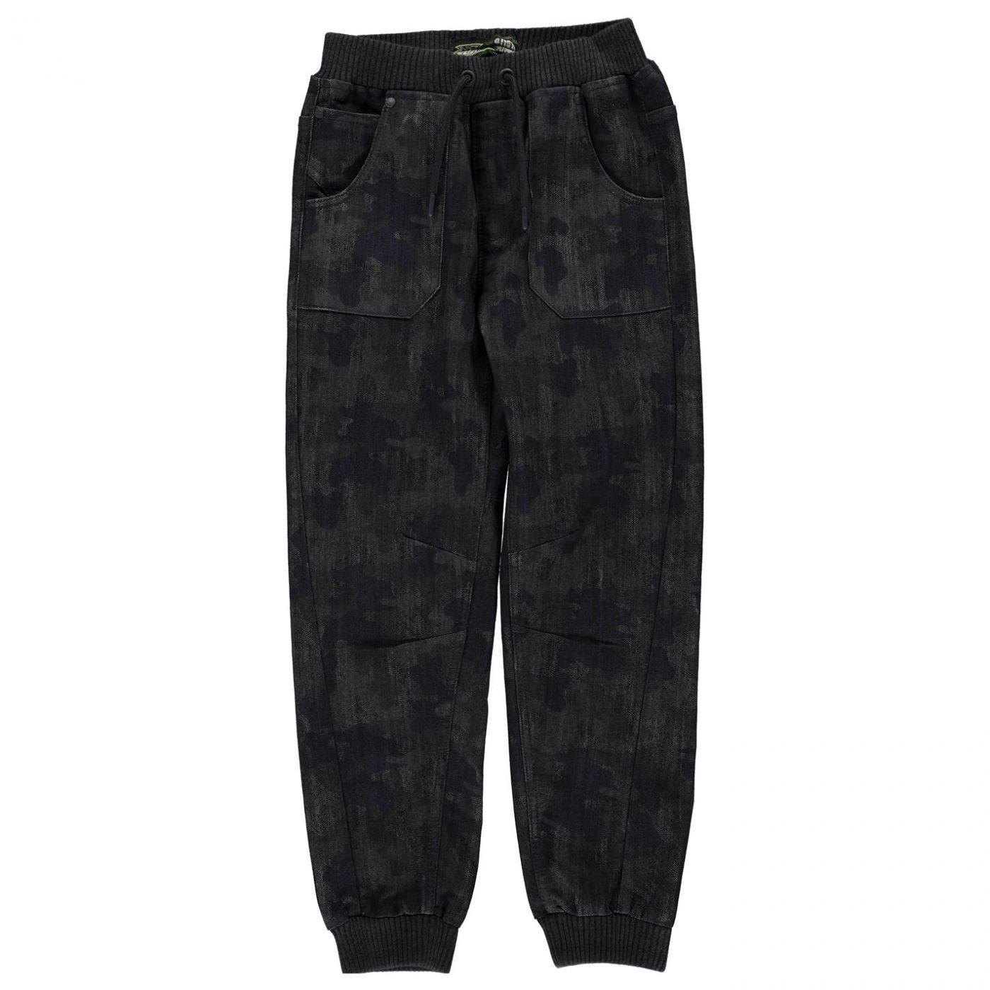 No Fear Camo Jog Jeans Junior Boys