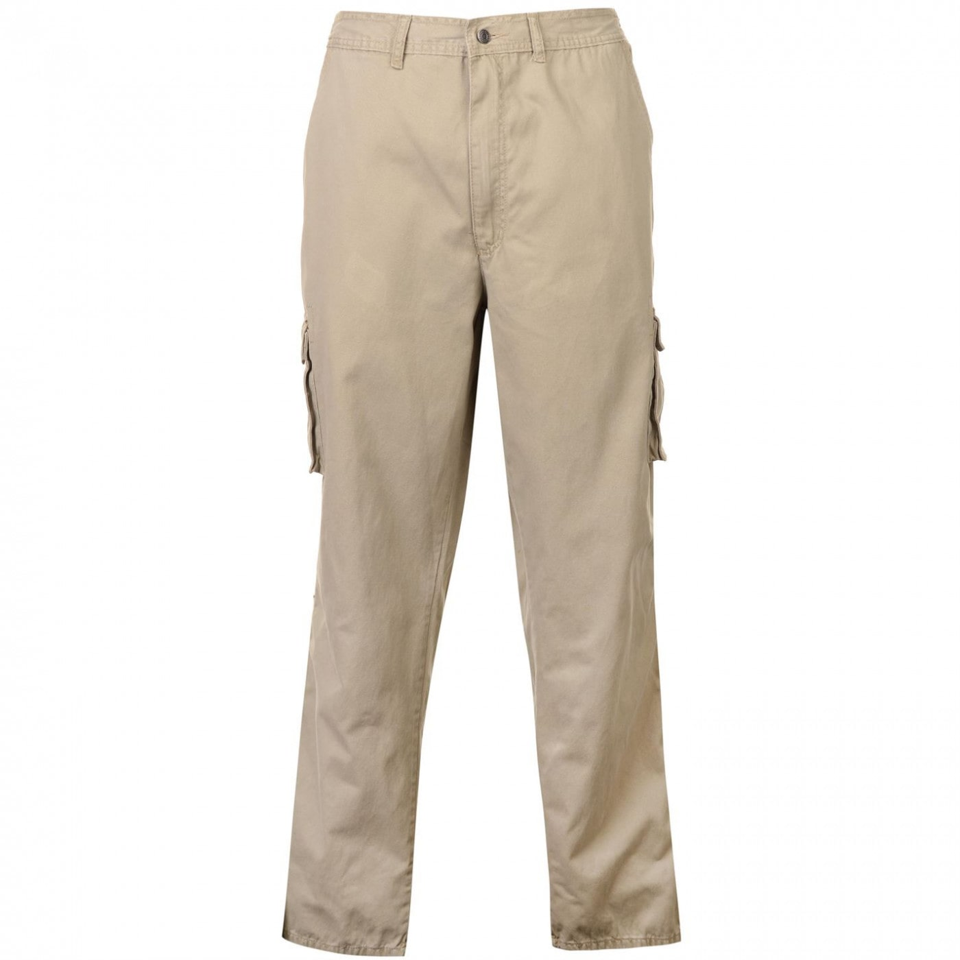 Full Blue Cargo Trousers Mens
