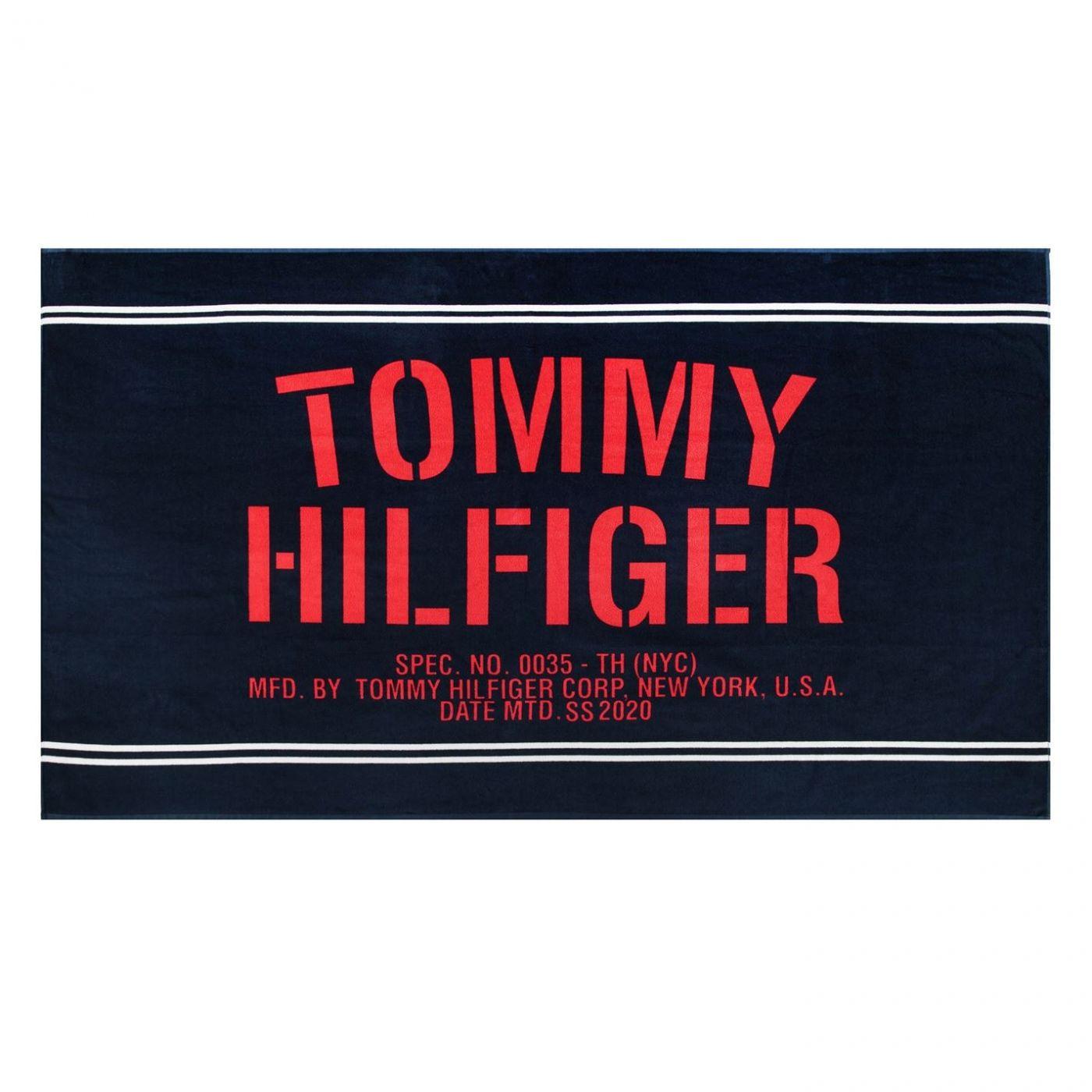 Tommy Bodywear Tommy Sum Patterned Towel