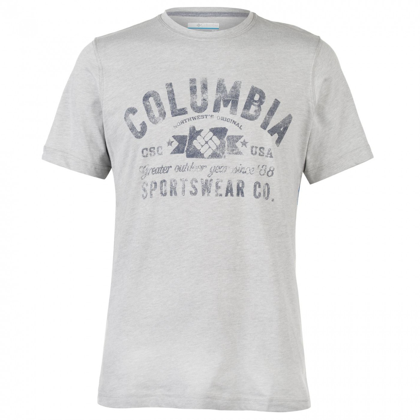 Columbia Round T Shirt Mens